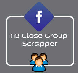 FB Closed Group Scrapper